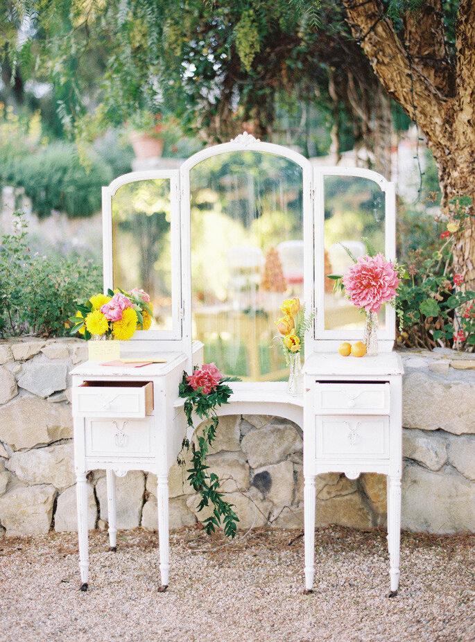 Espejos para la decoración de tu boda - Ryan Ray Photography