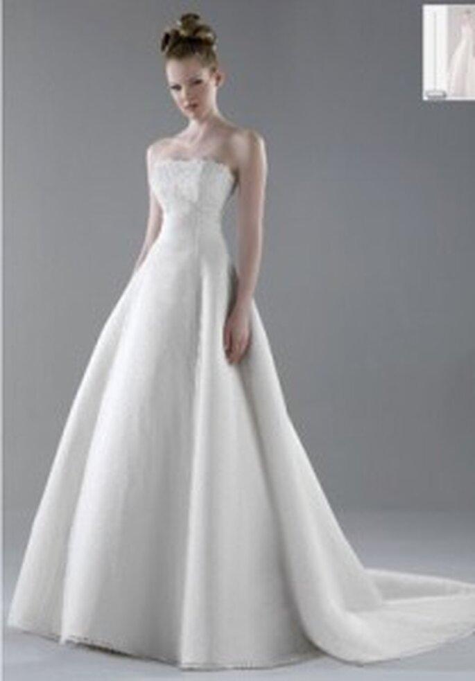 Vestido de novia - Esther Rodríguez - Vestido largo princesa, liso