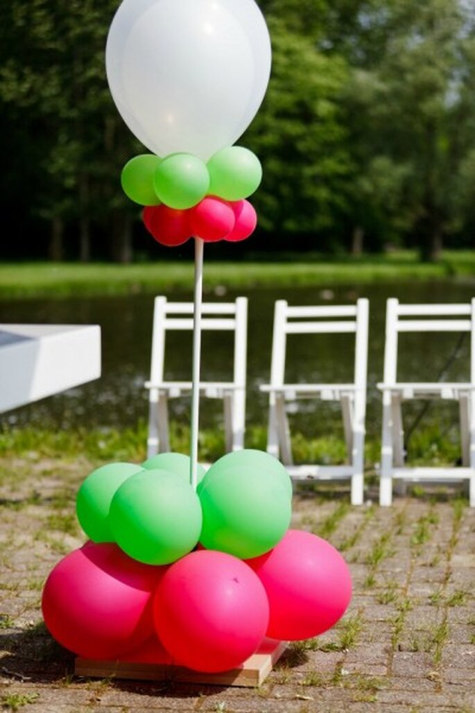 Palloncini in stile - Foto: 2Rings Trouwfotografie & FeestStudio