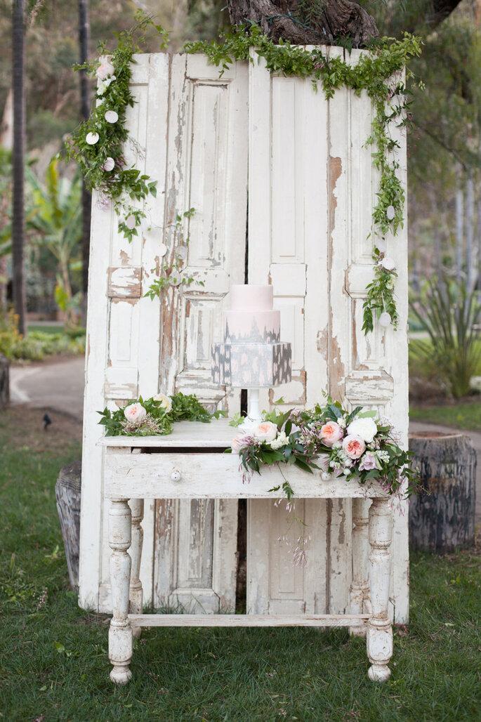 Detalles para una boda shabby chic - Diana McGregor