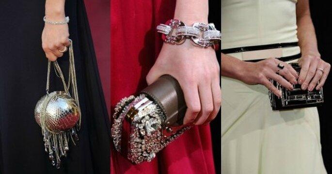 Accesorios para llevarte a una boda, inspiración en los Oscars 2012. Foto. Oscars 2012