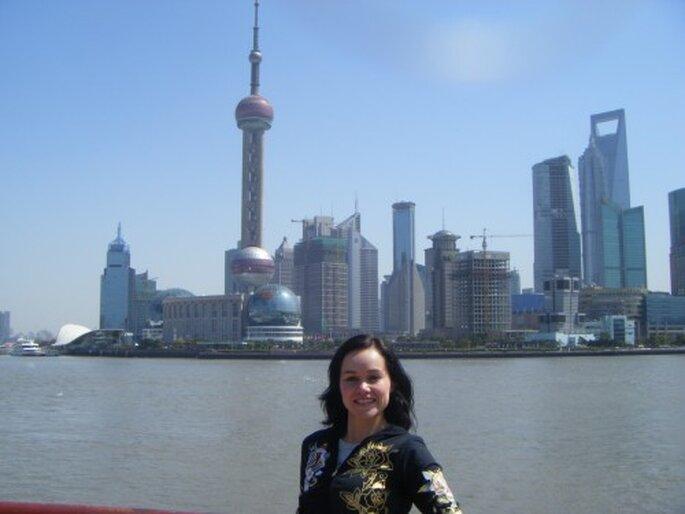 Luna de miel en Shanghai. Foto: Gaby Gómez