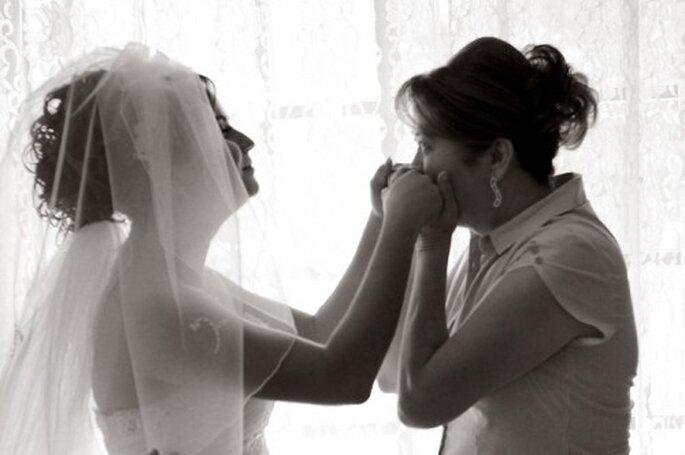 Disfruta de todas las etapas de tu boda con la ayuda de tu mamá y tu suegra - Foto Diego Romero