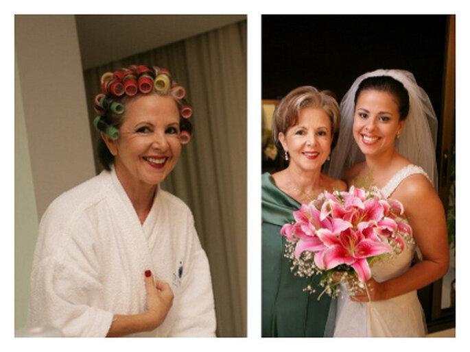 Maquiagem da mãe da noiva - Foto: Persio Campos