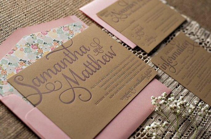 Tu boda con acabados decorativos en caoba - Foto Just Invite Me