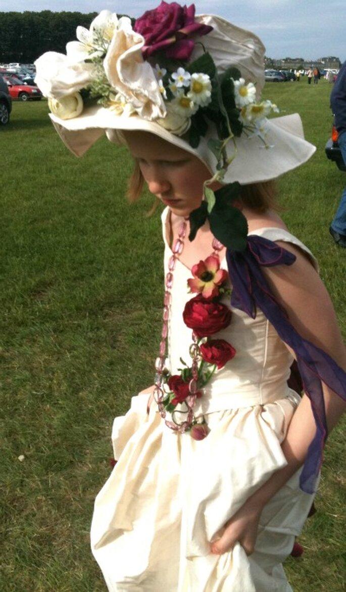 La créatrice habille aussi les enfants d'honneur...
