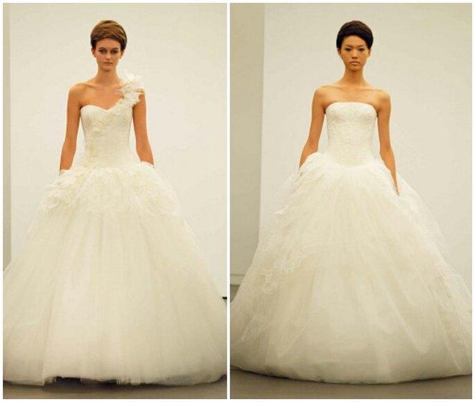 Ravissantes robes de mariée Vera Wang automne 2013. Photo: www.verawang.com