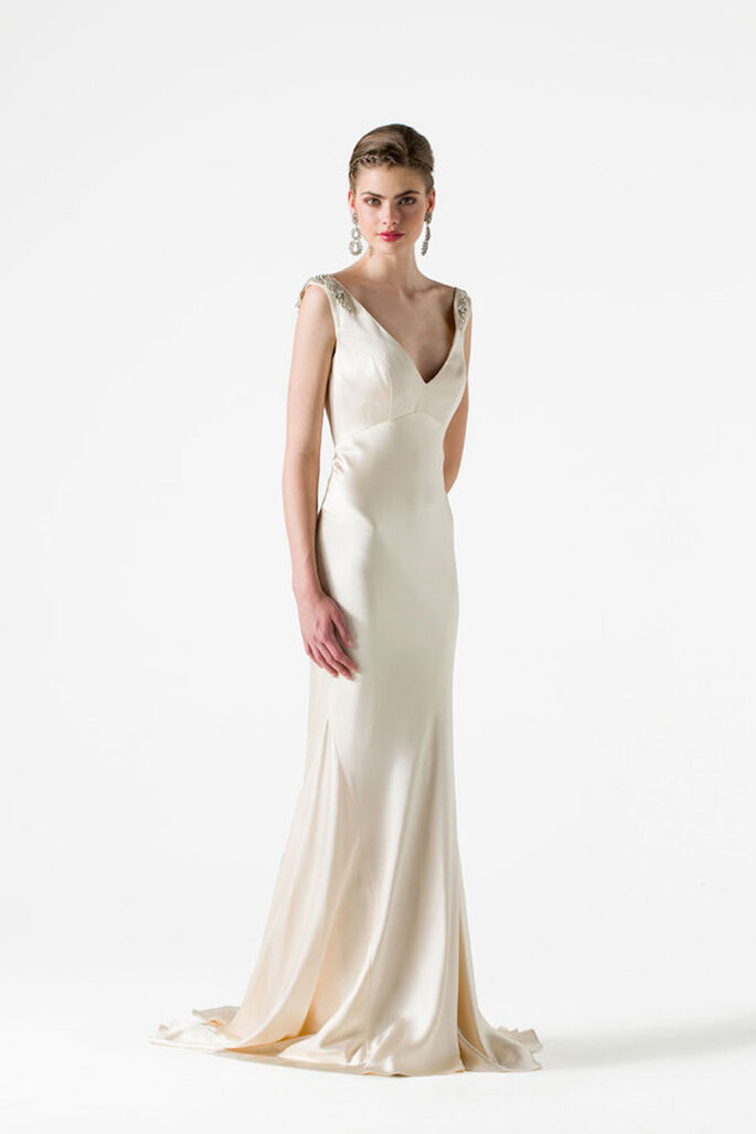 Vestidos de novia colección Black Label - Foto Anne Barge Modelo Leigh