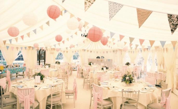 Decoración ideal para una boda estilo vintage - Foto Love Struck