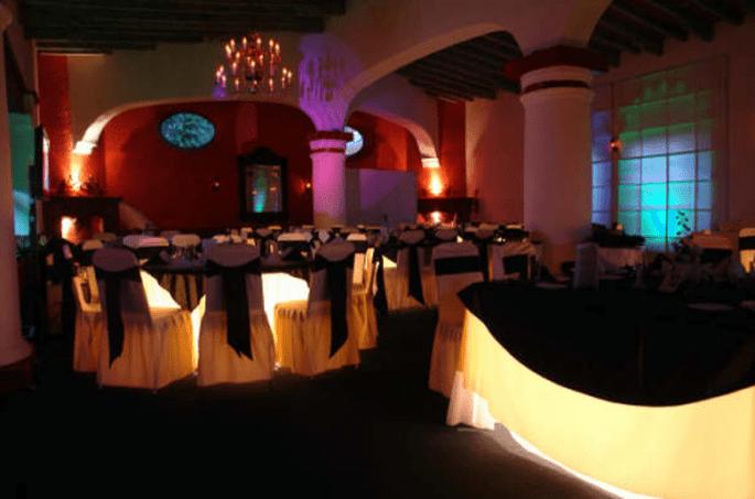 Calidad, elegancia y distinción en el montaje y banquete de bodas - Foto Grupo Montblanc