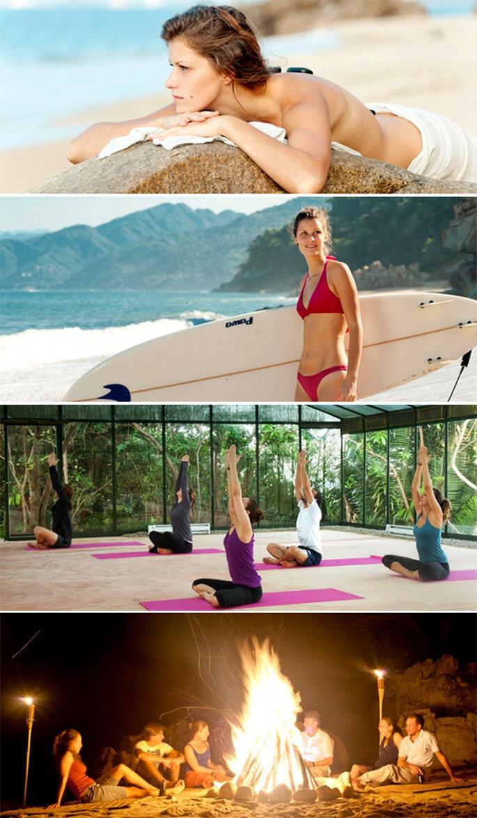 Actividades para activar el cuerpo y relajar la mente - Foto: Xinalani