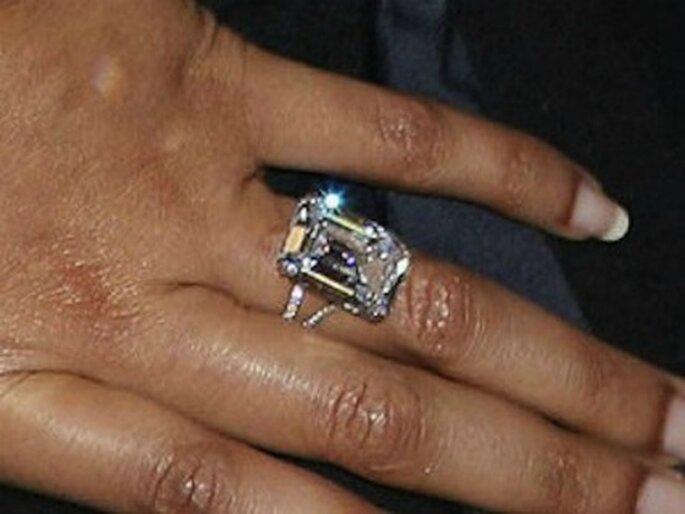 Diamante da 18 carati, di Lorraine Schwartz, valore 5 milioni di dollari per Beyoncé. Foto www.donnamoderna.com