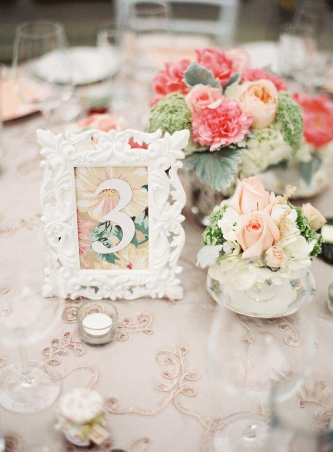 Indicadores de mesa súper originales para tu boda - Foto Lani Elias Fine Art Photography