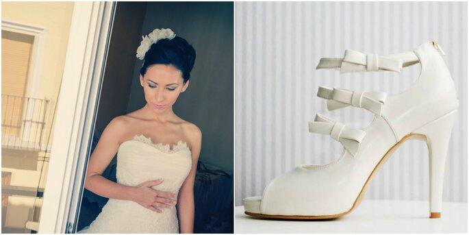 Créditos: zapatos de Catú Shoes/ foto de novia de Francisco N Merino