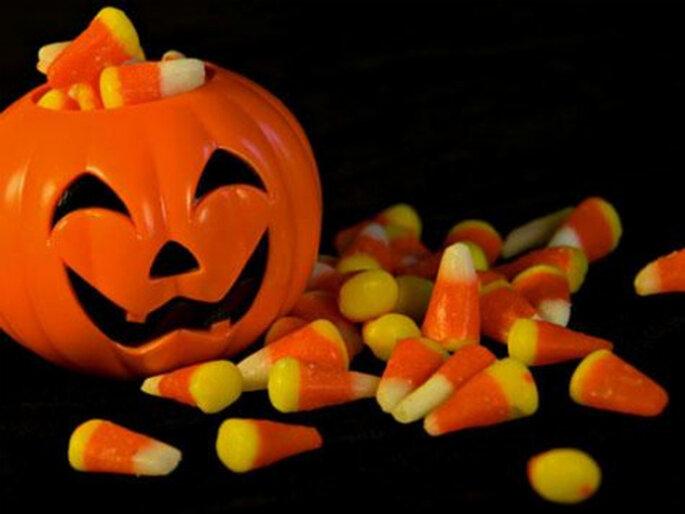 Perché non proporre qualcosa di originale con un matrimonio a tema ispirato a Halloween? Foto: www.medelhi.wordpress.com