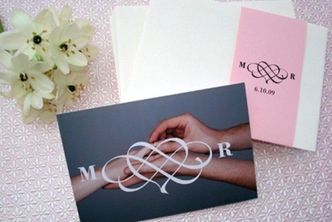 Convites de Casamento Fáceis de Fazer - sugestões do blog Happy Hour