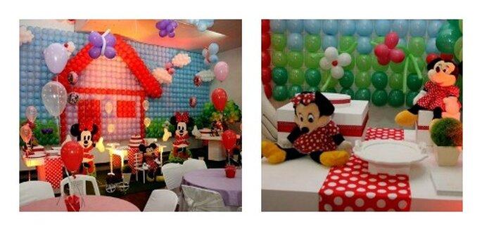 Ein Kinderbuffet und eine Kinderanimation machen Kinder glücklich – Foto: pagina Facebook Buffet bambini