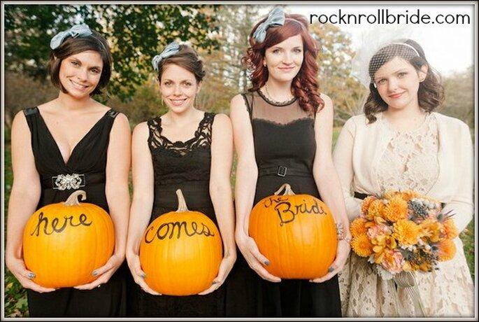 Foto via rocknrollbride.com