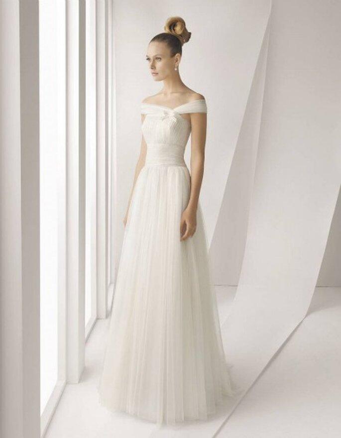 Vestidos de novia Rosa Clará 2012 - Modelo Adagio