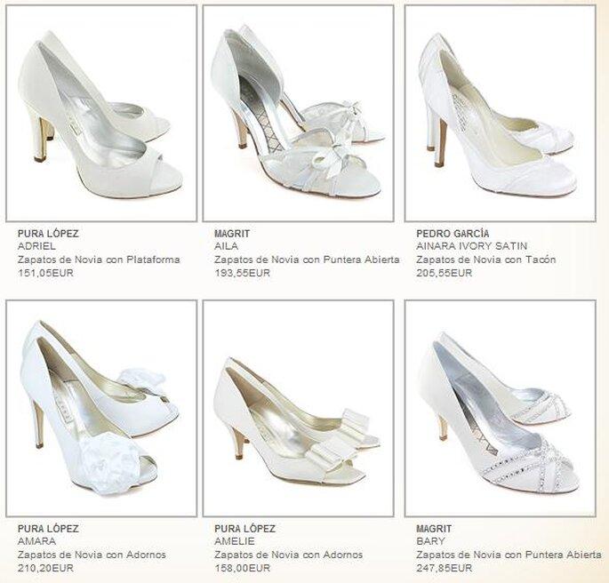 Modelos de Pura Lopez (via Footlux.com)
