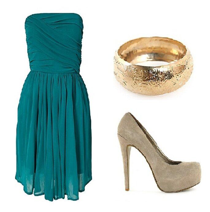 Tenue de mariage bleue - nelly.com