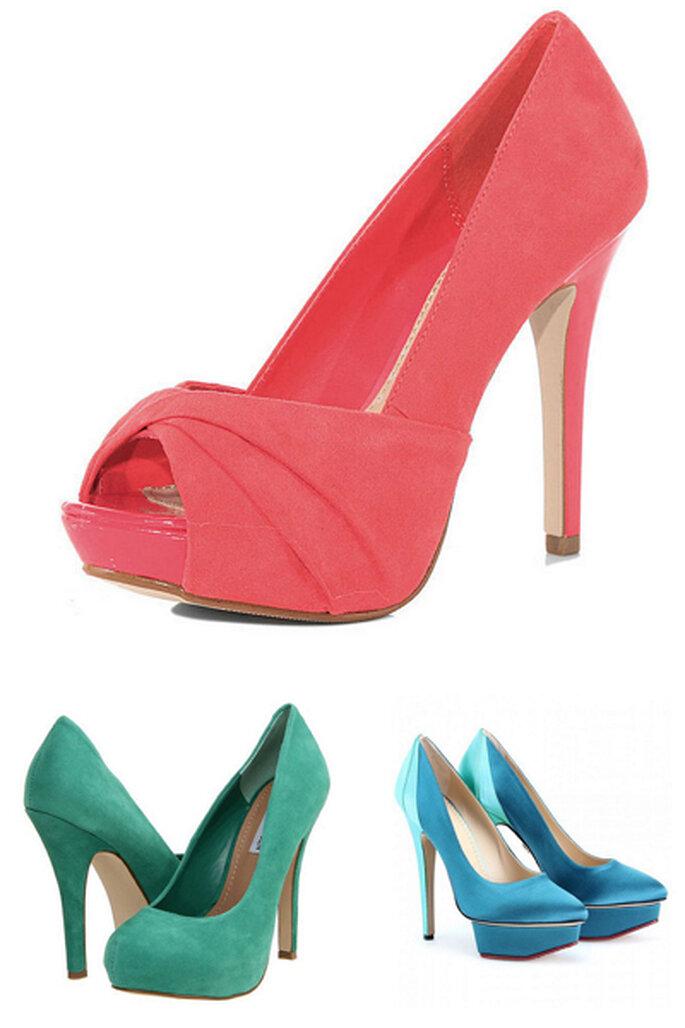 Chaussures de mariée 2013 : 5 tendances - Masako et Charlotte Olympia
