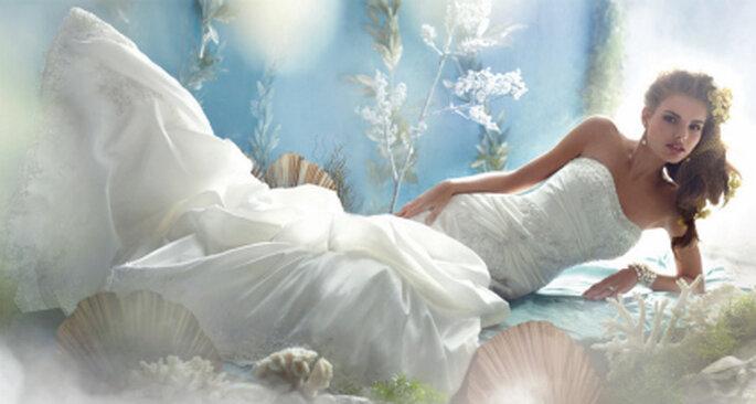 Modelo de novia de Ariel, La sirenita