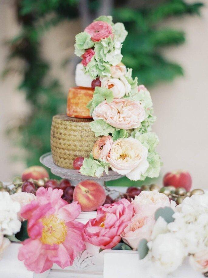 Pasteles de boda que romperán esquemas en 2015 - Foto Sandoval Studios Photography