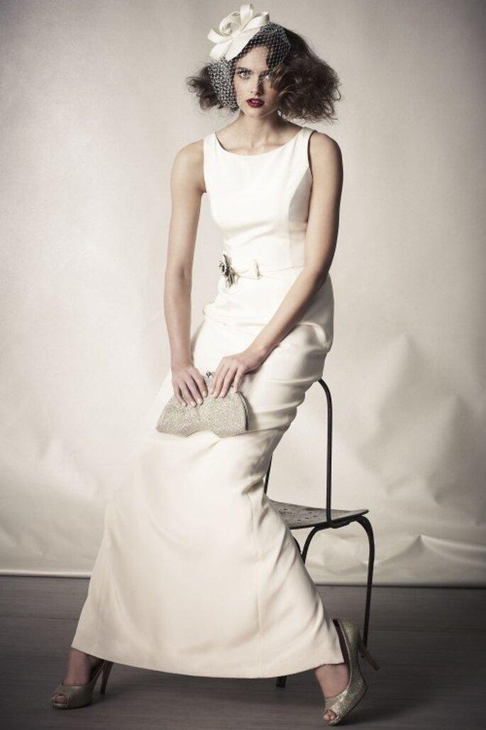 Kurze Brautschleier passen zu kurzen Haaren – Foto: bhldn