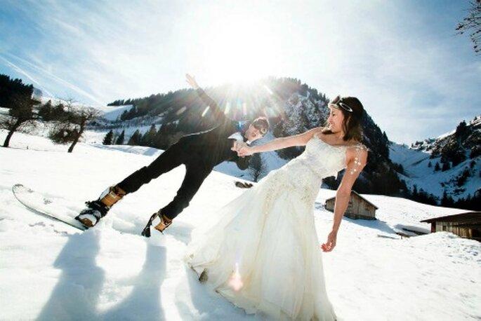 Mariage en hiver : on chouchoute ses invités ! - Crédit photo : Thierry Laforets pour Mars et Venus MARIAGES