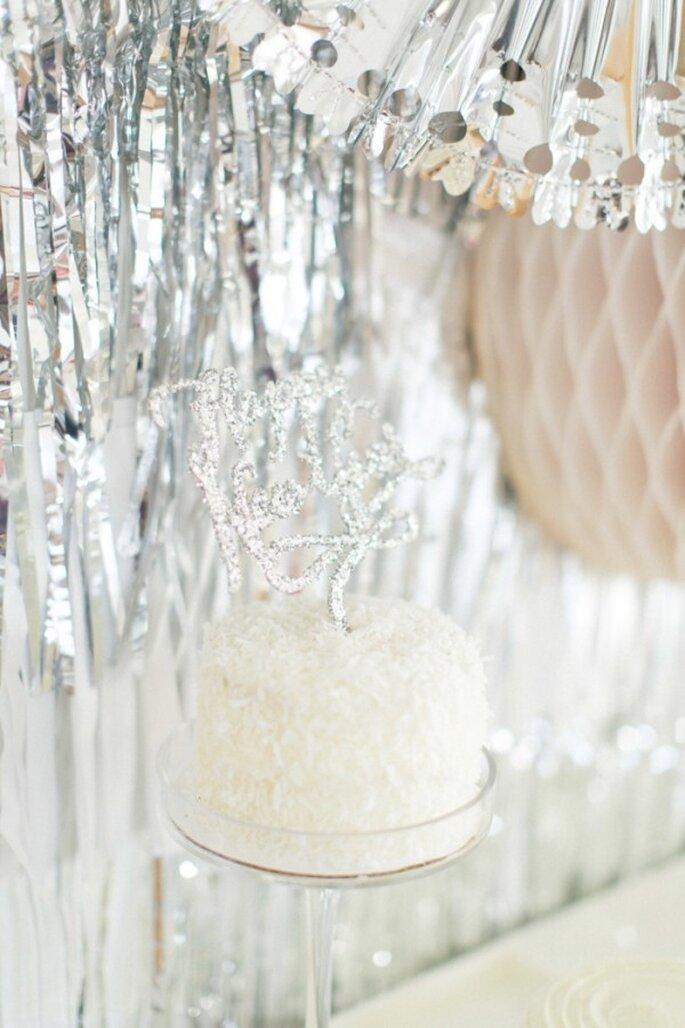 Decoración de boda inspirada en Año Nuevo - Foto Ruth Eileen
