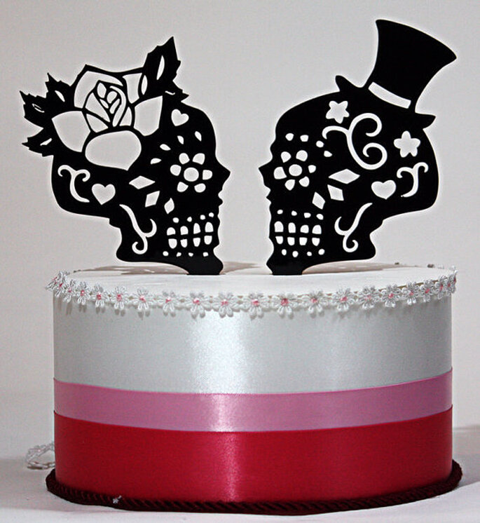 Cake Topper mexican chic - Foto Etsy