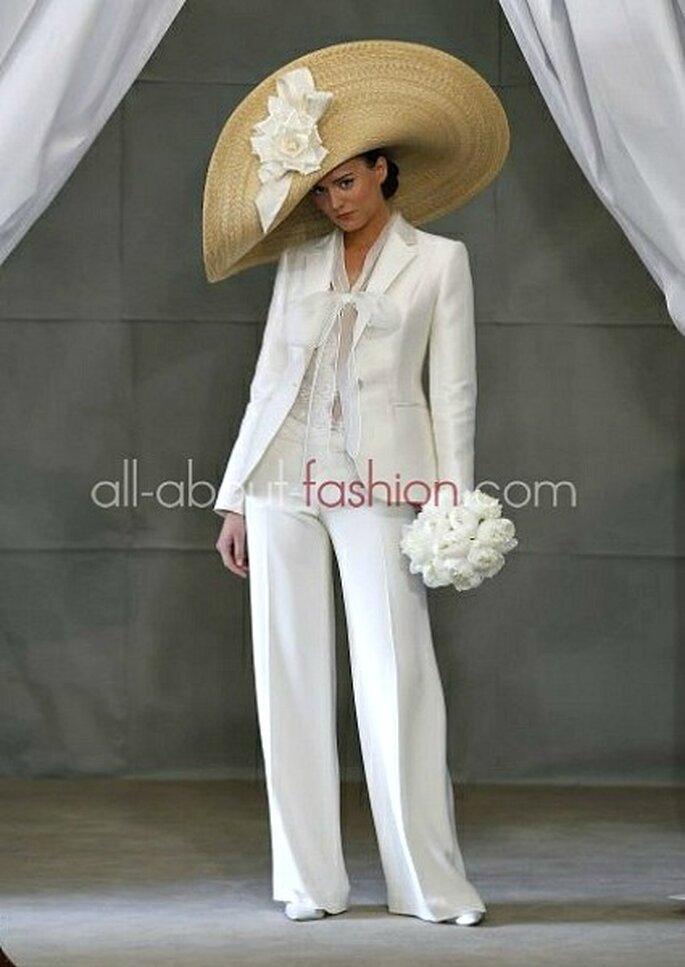 Pantalon de mariée Carolina Herrera 2013
