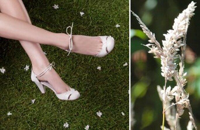 Chaussures de mariée Anis