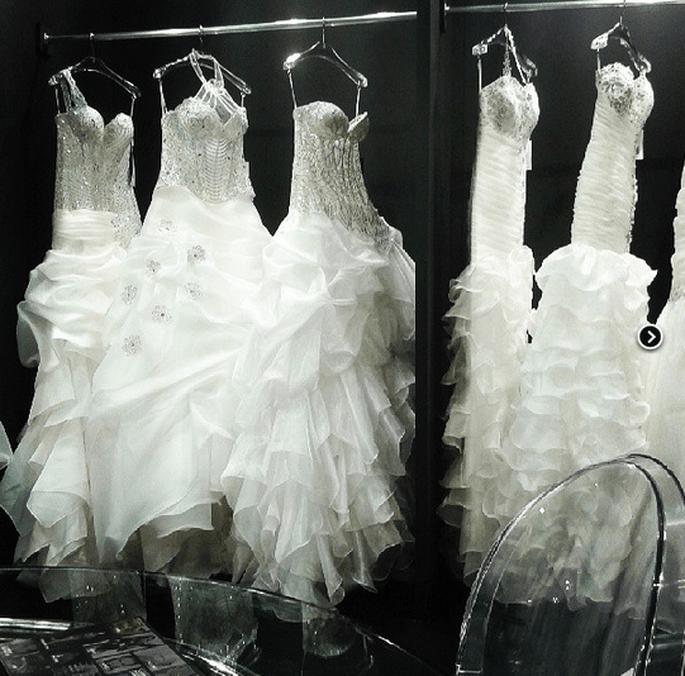 Robes de mariée 2014. Photo via Instagram