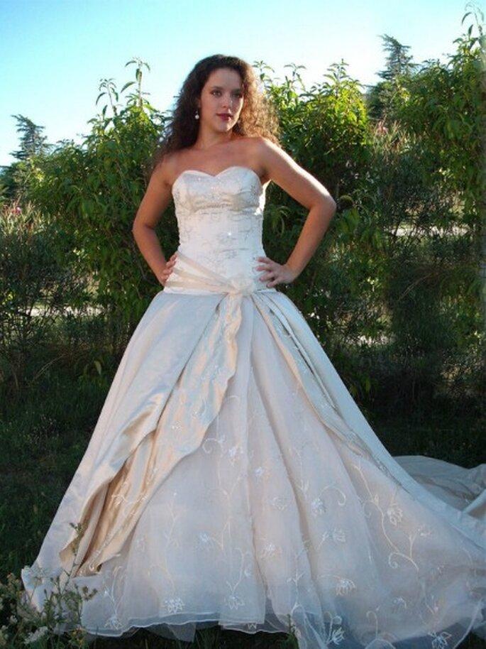 Robe de mariée Au coeur d'un rêve, modèle Orion - Photo : Au coeur d'un rêve