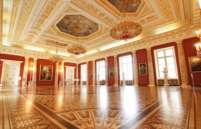 Царицыно, интерьеры Большого дворца