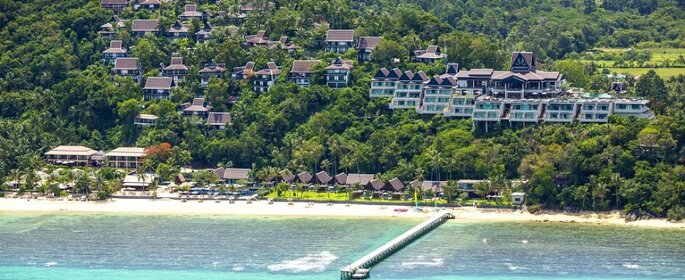 Photo : InterContinental Samui Baan Taling Ngam Resort