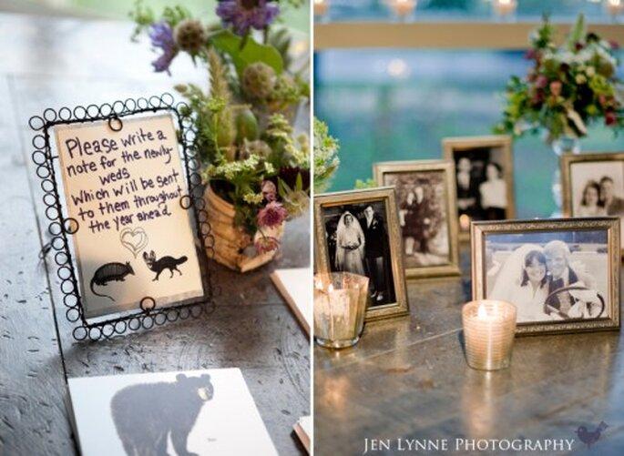 Boda temática, decoración y ambientación. fotografía de JenLynne
