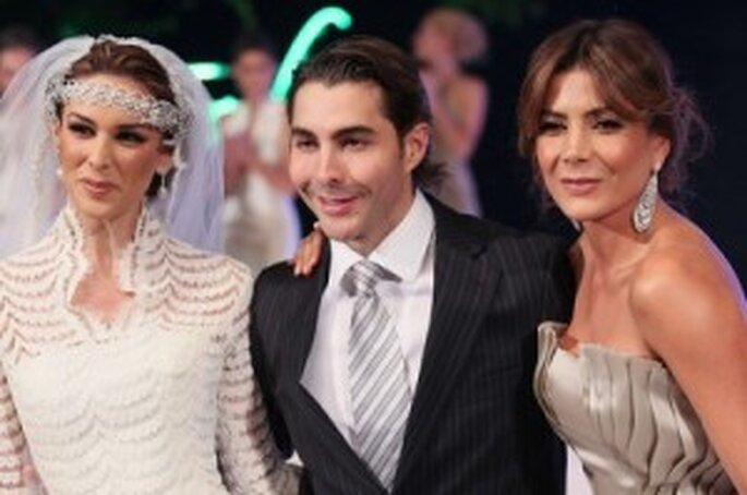 Jacqueline Bracamontes, Nicolás Felizola y Paty Manterola