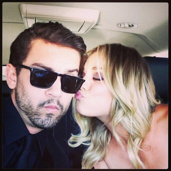 Kaley Cuoco confirma su compromiso - Foto Ryan Sweeting Instagram