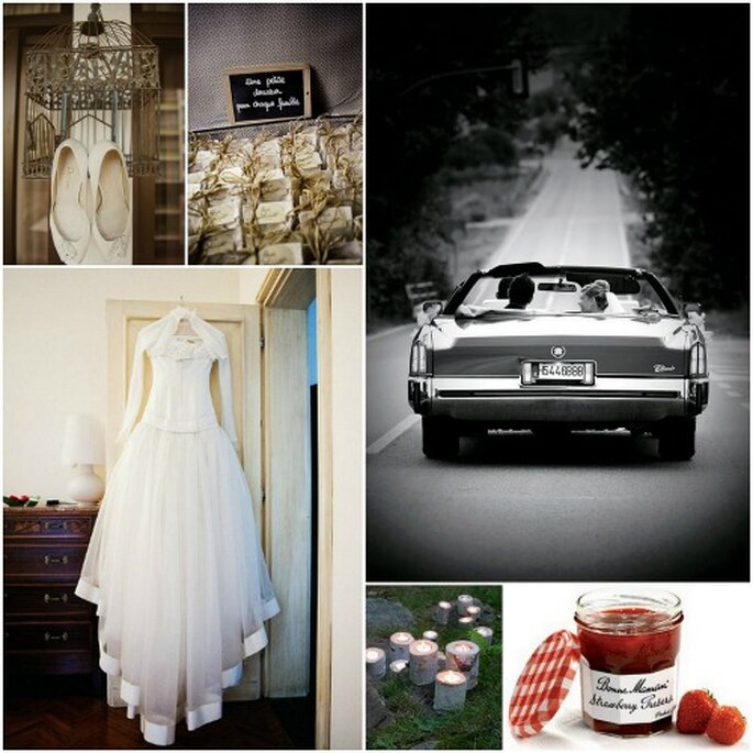 Detalles muy chic para tu boda rústica: confitura de fresas Bonne Mamman, velas naturales de The Rustic Wedding Collection Fotos: Marina Lomar, Byfotografos