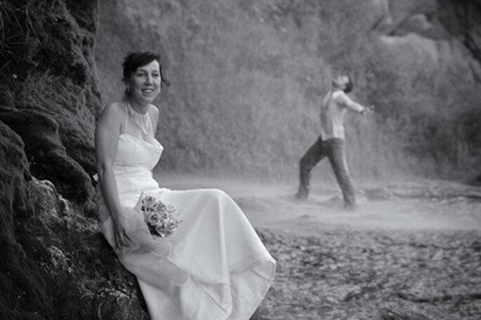"""""""Trash the dress"""" l'ultima tendenza nal campo dei reportage di nozze - Foto: studioboda.com"""