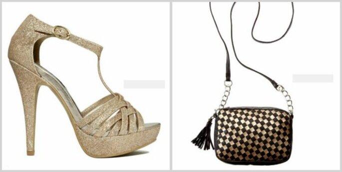 bolso y zapato madonna
