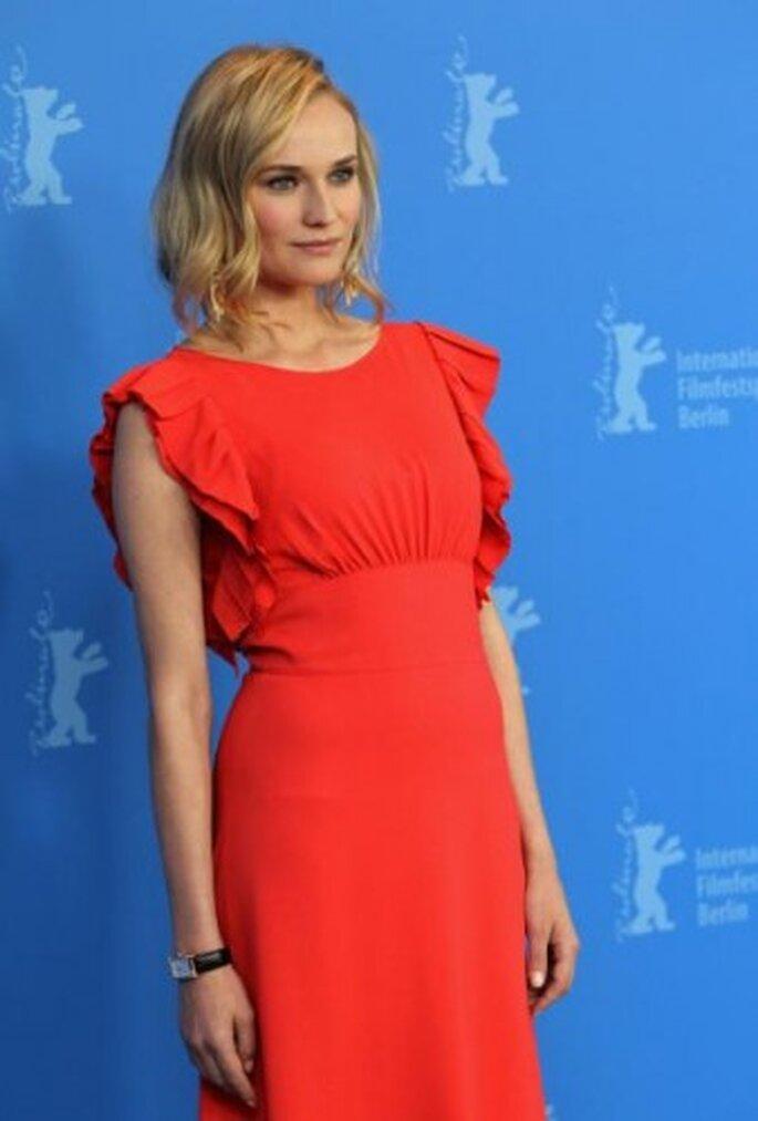Diane Kruger, Premiere of Unknown. Foto de Sean Gallup, Image.net