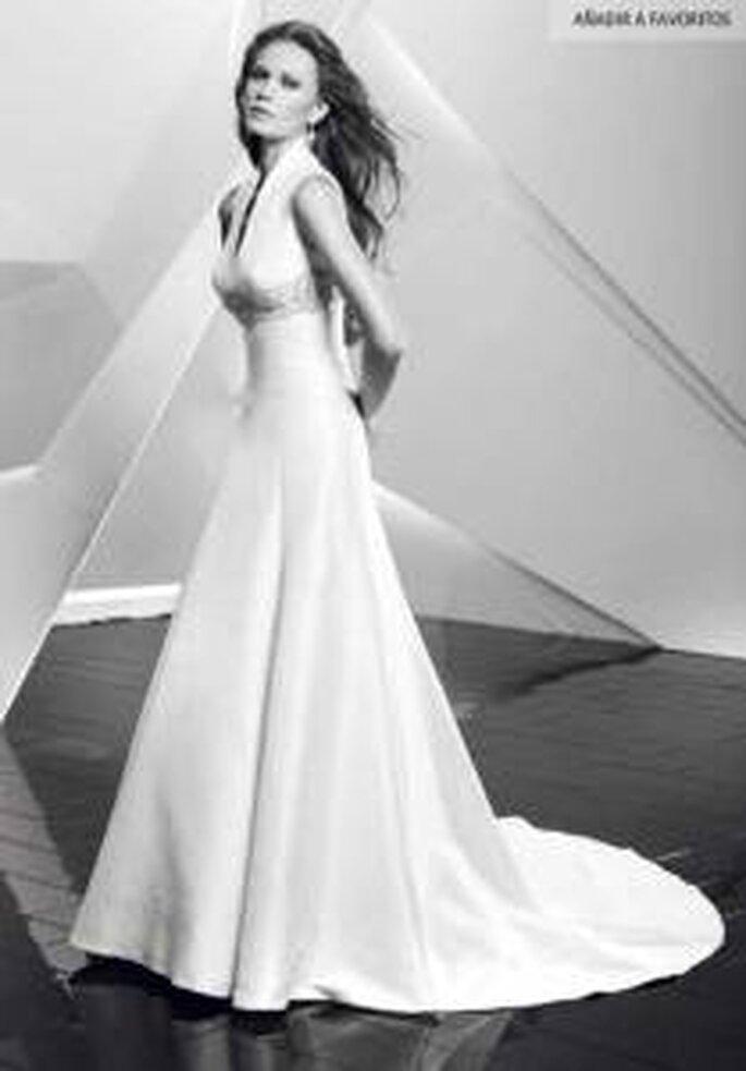 Vestido de novia - Pepe Botella - Vestido largo, tirantes triangulares