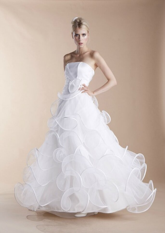 Robe de mariée Suzanne Ermann, modèle Norberte - Photo : Suzanne Ermann