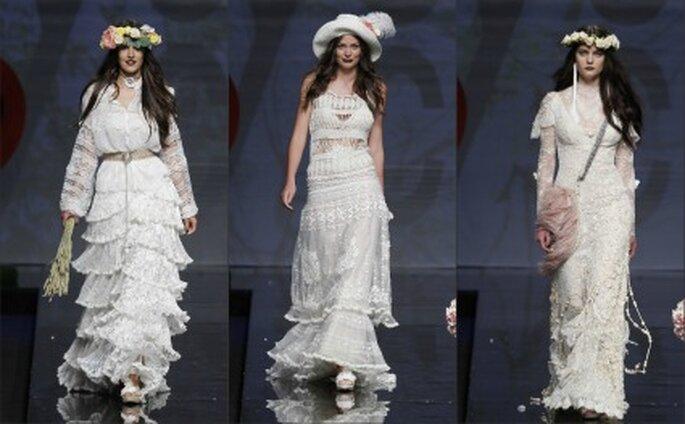 Vestidos de novia Yolan Cris 2012 para una mujer moderna - Ugo Camera / Barcelona Bridal Week