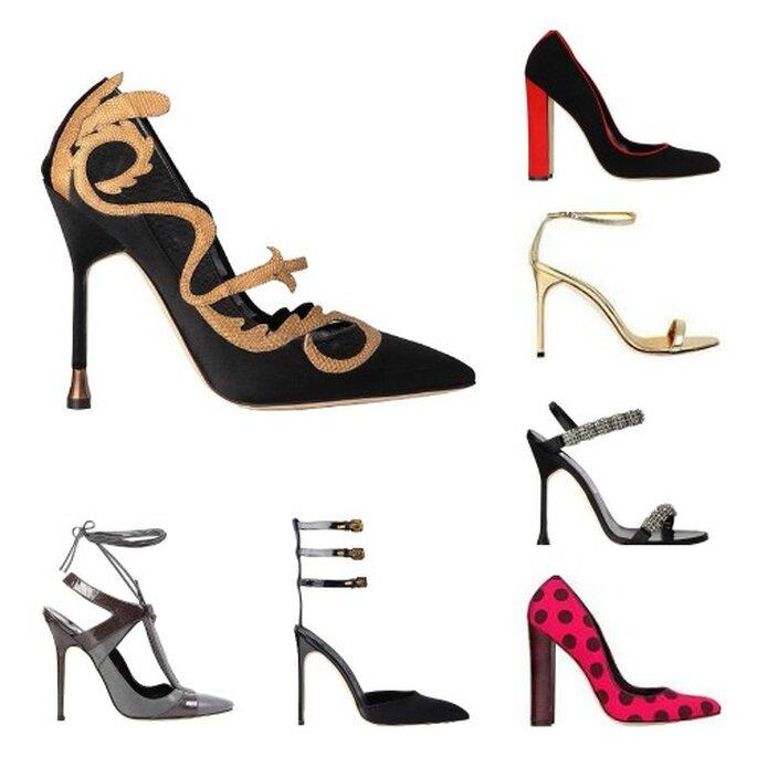 Chaussures pour invitées de la nouvelle collection Manolo Blahnik. Photo: Manolo Blahnik