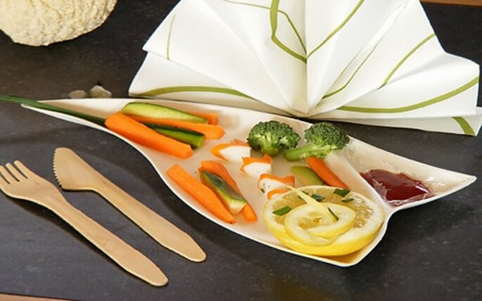 Tendance Ephémère propose une gamme de vaisselle chic et écologique